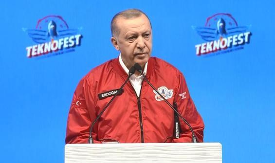 Erdoğan'dan Teknofest'te gençlere çağrı