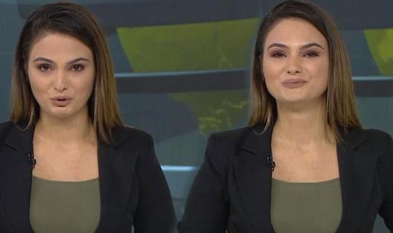 Azerbaycanlı spiker ağlayarak müjdeyi verdi!