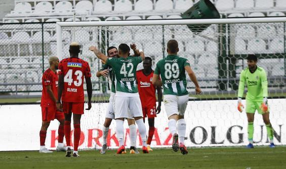 Beşiktaş, Konyaspor deplasmanında hüsrana uğradı