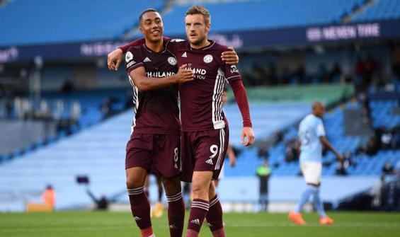 Leicester City, Manchester City'yi farklı mağlup etti