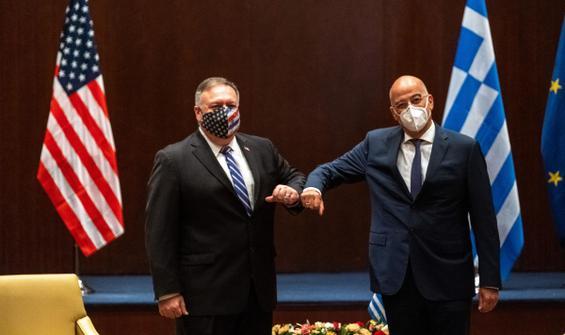 ABD ve Yunanistan'dan ortak 'Doğu Akdeniz' açıklaması