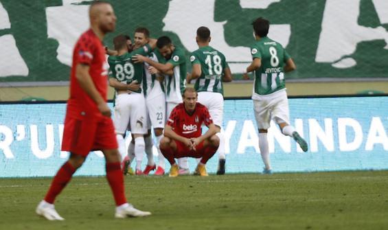 Beşiktaş savunması çöktü