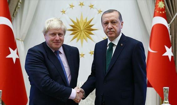 Erdoğan ile Boris Johnson arasında kritik görüşme