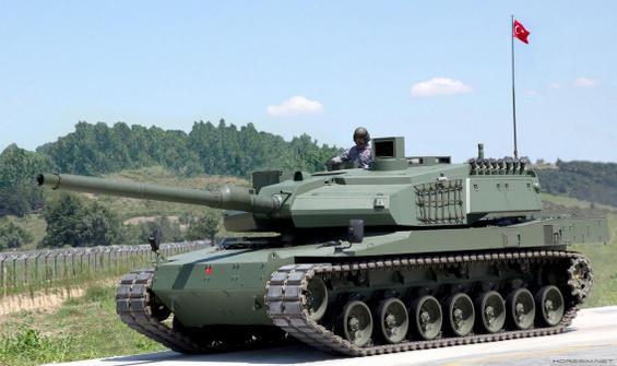 Altay tankı seri üretim hattı çalışmalarına başlandı