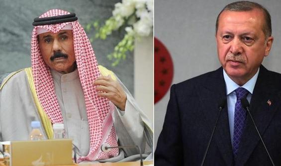 Erdoğan, yeni Kuveyt emiri ile görüştü