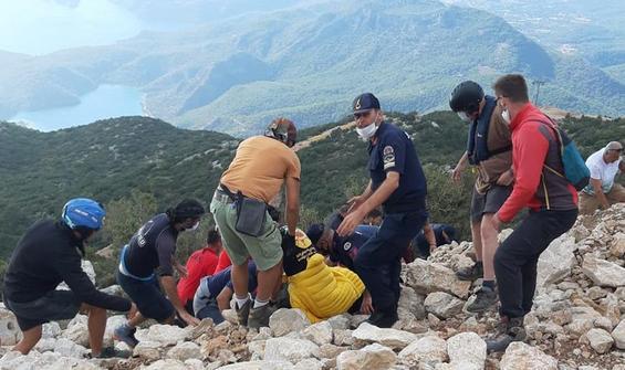 Muğla'da yamaç paraşütü kazası!