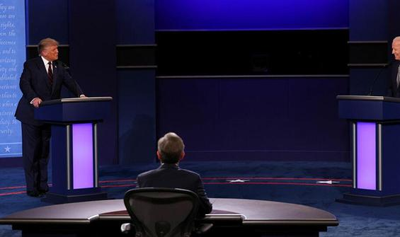 Trump ile Biden, canlı yayında kozlarını paylaştı!