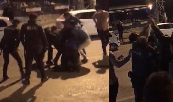 Eğlence mekanına alınmayan polis havaya ateş açtı