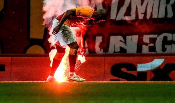 PFDK'den Galatasaray'a meşale cezası