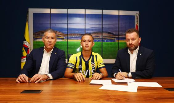 Dimitris Pelkas resmen Fenerbahçe'de