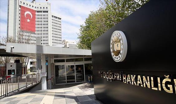 Dışişleri'nden Türkiye raporuna tepki