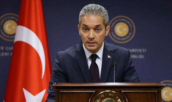 Dışişleri Bakanlığı Sözcüsü Aksoy'dan AİHM'e sert tepki