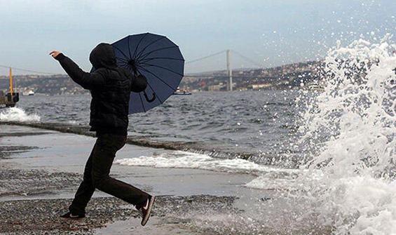 İstanbul ve çevre iller için fırtına uyarısı!