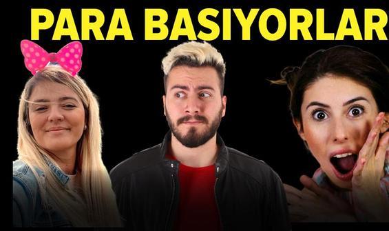 Türkiye'nin en çok kazanan YouTuber'ları
