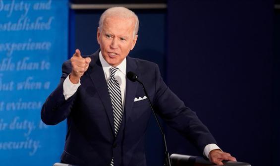 Trump, Biden'ın 'senato' gafını ti'ye aldı