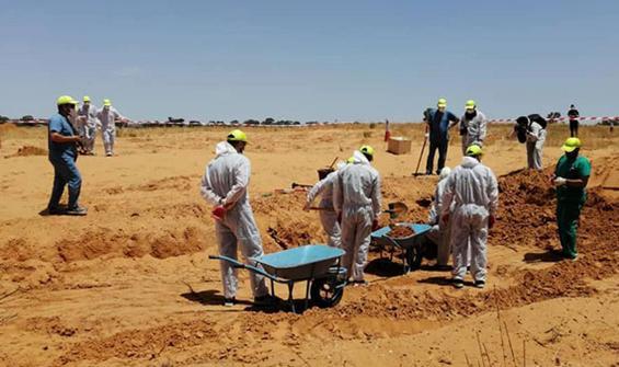 Terhune'de vahşet! İki yeni toplu mezar daha bulundu