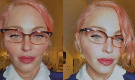 Madonna son görüntüsüyle şaşırttı
