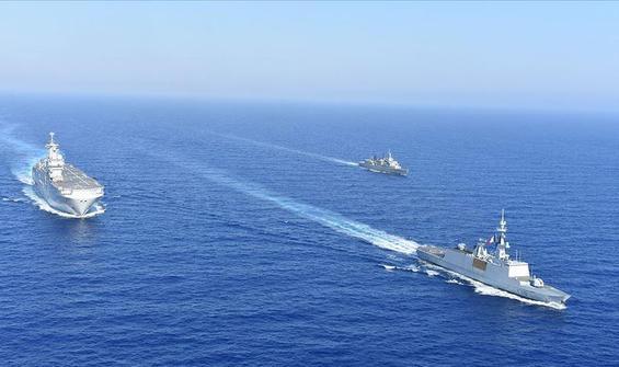 ABD ve Fransa'dan Doğu Akdeniz'de ortak tatbikat