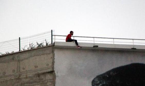 Vatandaşlara isyan etti: Burası survivor parkuru değil