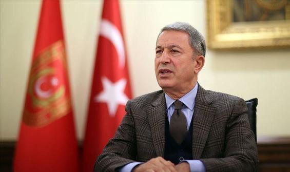 Bakan Akar, Azerbaycanlı mevkidaşı ile görüştü