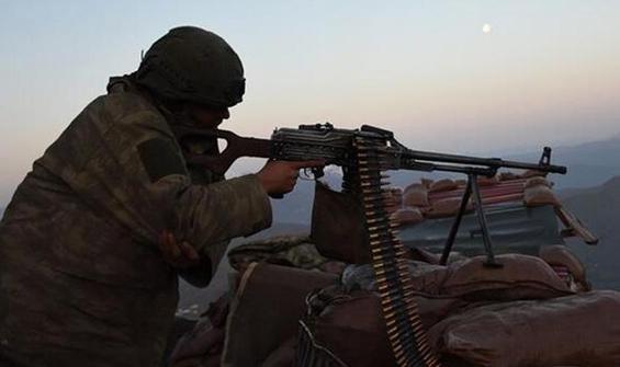 Fırat Kalkanı bölgesinde 6 terörist etkisiz hale getirildi