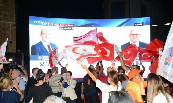 KKTC'de seçimin galibi Ersin Tatar