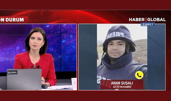 Ağdam'a düzenlenen saldırıda 1'i gazeteci 4 kişi yaralandı