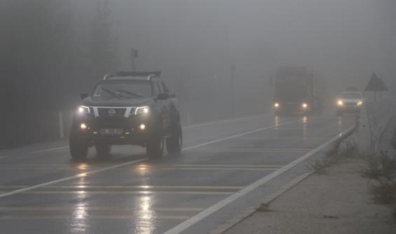 İstanbul yolunda sis ve pus!
