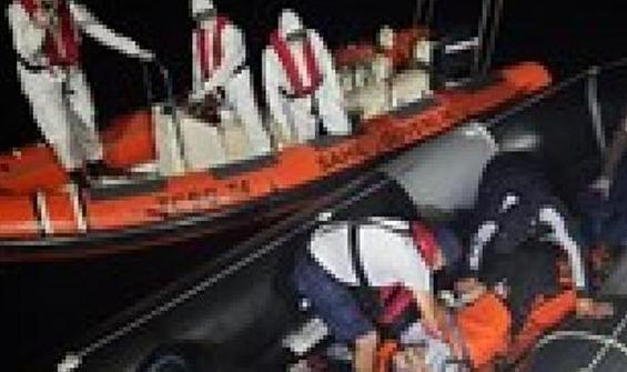 İzmir'de 78 kaçak göçmen kurtarıldı