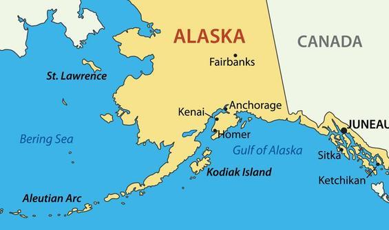 Alaska'da 7.4 büyüklüğünde deprem