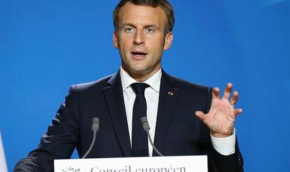 """Macron'dan """"islami radikalleşme"""" mesajı"""