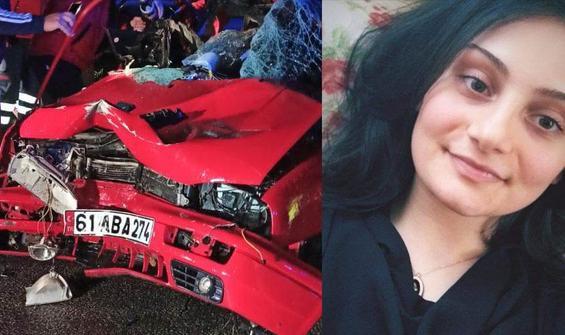 Feci kaza... Selin öldü, erkek kardeşi yaralı