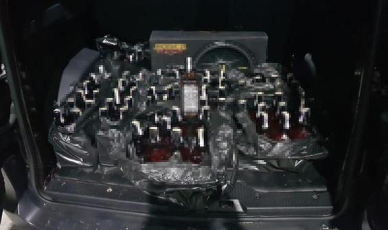 Tekirdağ'da kiralık depoya 'sahte içki' operasyonu