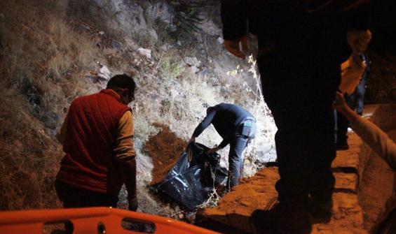 Kayseri'de dehşet! Taşla öldürüp kayalıklardan attı