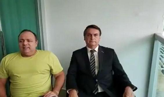 Bolsonaro, koronavirüs hastası bakanı maskesiz ziyaret etti