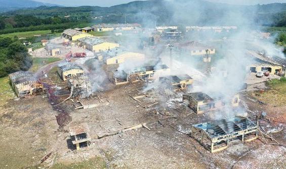Havai fişek fabrikasındaki patlamaya ilişkin yeni gelişme
