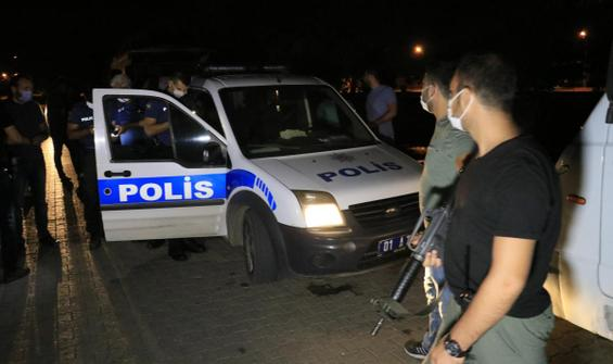 Ses bombası attıkları sırada polise denk geldiler!