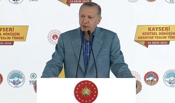 Erdoğan: Gecekondular, depremlerde adeta tabuta dönüşüyordu