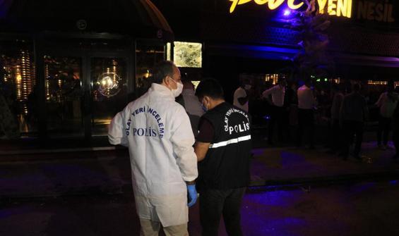 Restoran çıkışı kadına silahlı saldırı