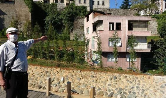 Trabzon'da şaşırtan görüntü!