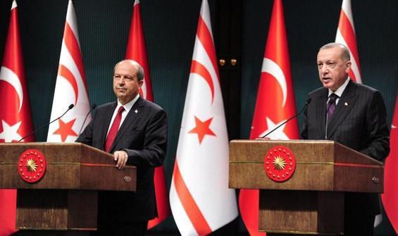 """Erdoğan ve Tatar'dan Ankara'da """"Kapalı Maraş"""" vurgusu"""