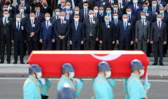 Osman Durmuş için TBMM'de tören