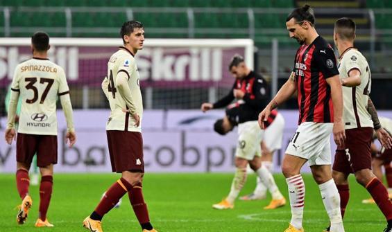 6 golün atıldığı Milan-Roma maçında gülen yok