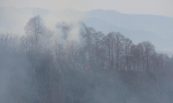 Doğu Karadeniz için yangın tehlikesi