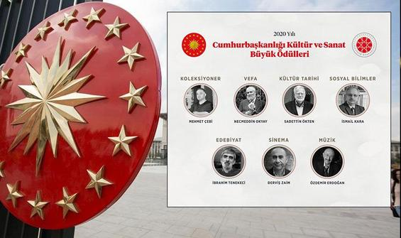 Cumhurbaşkanlığı Kültür Sanat Büyük Ödülleri açıklandı