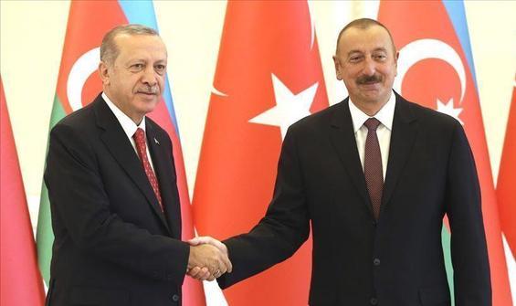 Aliyev'den Erdoğan'a 29 Ekim telefonu