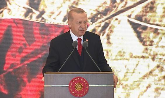 Cumhurbaşkanı Erdoğan: İstiklal mücadelemiz bitmeyecek