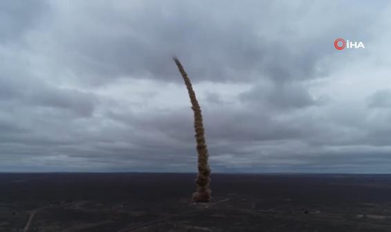 Rusya yeni füze sistemini test etti