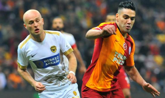 Galatasaray ile Ankaragücü 99. randevuda