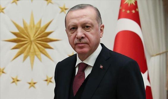 Cumhurbaşkanı Erdoğan'dan 'teşekkür' mesajı